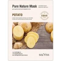 Маска для лица тканевая с экстрактом картофеля