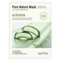 Маска тканевая с алоэ Anskin Secriss Pure Nature Mask Pack Aloevera