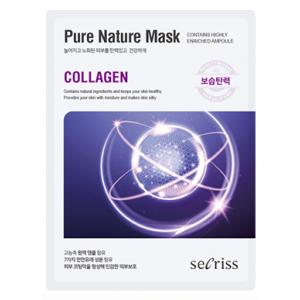 Маска тканевая с коллагеном Anskin Secriss Pure Nature Mask Pack Collagen