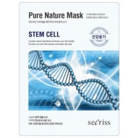 Маска для лица тканевая со стволовыми клетками Anskin Secriss Pure Nature Mask Pack Stem Cell