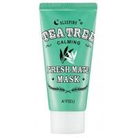 Маска для лица ночная успокаивающая A'pieu Fresh Mate Tea Tree Mask Calming