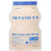Маска тканевая йогуртная увлажняющая A'pieu Real Big Yogurt One Bottle Plein