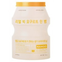 Маска тканевая йогуртная с манго A'pieu Real Big Yogurt One Bottle Mango