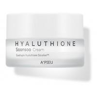 Крем для лица глубокоувлажняющий гиалуроновый A'pieu Hyaluthione Soonsoo Cream