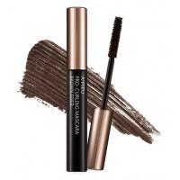 Тушь для ресниц подкручивающая с фактором роста волос коричневая A'pieu Pro-Curling Brown Fixer Mascara
