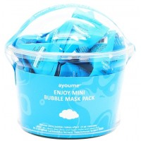 Маска для лица пузырьковая очищающая Ayoume Enjoy Mini Bubble Mask Pack