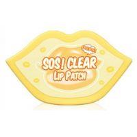Патчи для губ очищающие гидрогелевые Berrisom Sos Clear Lip Patch