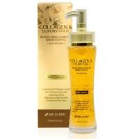 Эссенция жидкий коллаген с золотом 3W Clinic Collagen Luxury Gold Revitalizing Comfort Gold Essence