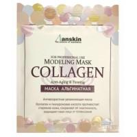 Маска альгинатная с коллагеном укрепляющая (саше 25 гр) Anskin Collagen Modeling Mask