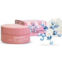 Патчи с коллагеном и гиалуроновой кислотой Ayoume Collagen Hyaluronic Eye Patch