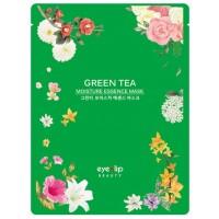 Маска тканевая с зеленым чаем Eyenlip Green Tea Moisture Essence Mask
