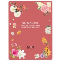 Маска тканевая с лососевым маслом Eyenlip Salmon Oil Moisture Essence Mask