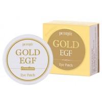 Патчи с золотом и EGF Премиум Petitfee Premium Gold EGF Eye Patch