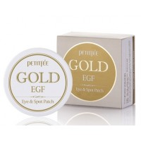 Патчи с золотом и EGF Petitfee Gold EGF Eye Spot Patch