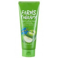 Крем для тела Яблоко Daeng Gi Meo Ri Farms Therapy Sparkling Body Cream Green Apple