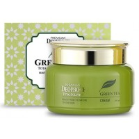 Крем для лица на основе зеленого чая Deoproce Premium Greentea Cream