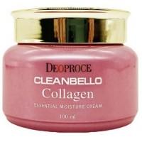 Крем коллагеновый увлажняющий Deoproce Cleanbello Collagen Essential Moisture Cream