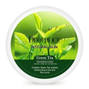 Питательный крем для лица и тела с экстрактом зеленого чая Deoproce Green Tea Cream