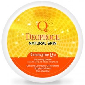 Питательный крем для лица и тела с коэнзимом Q10 Deoproce Coenzyme Nourishing Cream