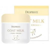 Крем антивозрастной с экстрактом козьего молока Deoproce Goat Milk Pure Cream