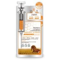 Маска - сыворотка питательная с лошадиным маслом Deoproce Horse Oil Mask Pack