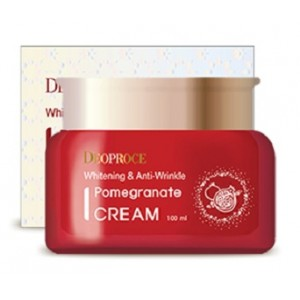 Антивозрастной крем с экстрактом граната Deoproce Whitening Anti-Wrinkle Pomegranate Cream