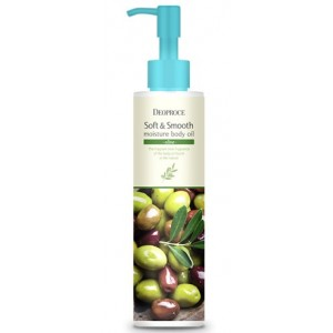 Масло для тела с экстрактом оливы Deoproce Moisture Body Oil Olive