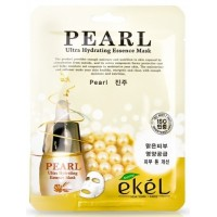 Маска для лица тканевая Жемчуг Ekel Pearl Ultra Hydrating Essence Mask