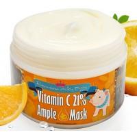 Маска с витамином С разогревающая Elizavecca Vitamin C Ample Mask
