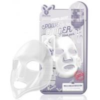 Маска для лица тканевая молочная Elizavecca Milk Deep Power Ringer Mask Pack