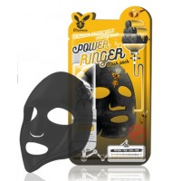 Маска тканевая c древесным углем и медом Elizavecca Power Ringer Mask Pack Black Charcoal Honey Deep