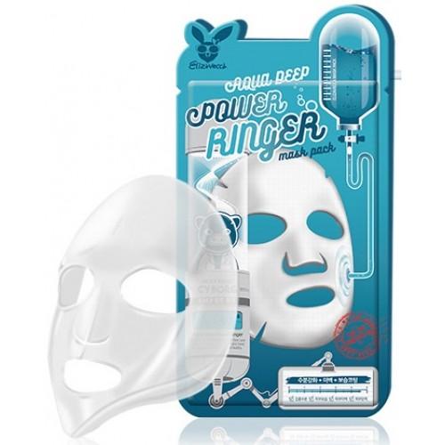 Маска тканевая увлажняющая Elizavecca Aqua Deep Power Ringer Mask