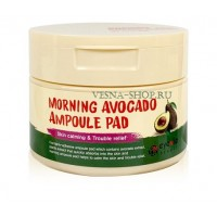 Пады с эссенцией Авокадо Eyenlip Morning Avocado Ampoule Pad