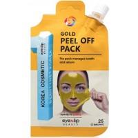 Маска-пленка очищающая с золотом Eyenlip Gold Peel Of Pack