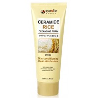 Пенка с экстрактом риса и керамидами Eyenlip Ceramide Rice Cleansing Foam