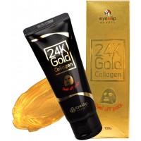 Маска-пленка очищающая с золотом и коллагеном Eyenlip 24K Gold Collagen Peel Off Pack