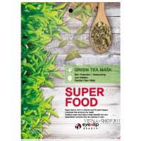 Маска тканевая с экстрактом зеленого чая Eyenlip Super Food Green Tea Mask