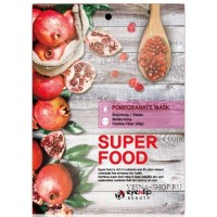 Маска тканевая с экстрактом граната Eyenlip Super Food Pomegranate Mask