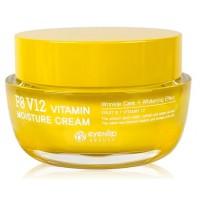 Крем для лица витаминный увлажняющий Eyenlip F8 V12 Vitamin Moisture Cream