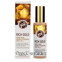 Тональный крем с золотом тон №21 Enough Rich Gold Double Wear Radiance Foundation 21