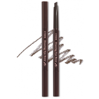 Карандаш для бровей темно - коричневый № 1 Etude House Drawing Eye Brow Black Brown 1