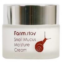 Крем увлажняющий улиточный FarmStay Snail Mucus Moisture Cream