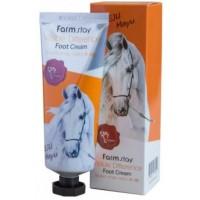 Крем для ног с лошадиным маслом Farmstay Jeju Mayu Foot Cream