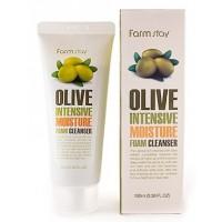 Пенка с экстрактом оливы FarmStay Olive Intensive Moisture Foam Cleanser