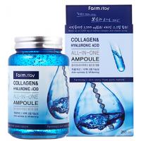 Сыворотка с коллагеном и гиалуроновой кислотой FarmStay Collagen Ampoule