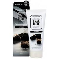 Очищающая маска-пленка с древесным углем Jigott Pure Clean Peel Off Pack Charcoal (годен до: 19.12.2020)