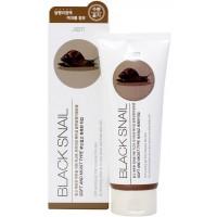 Гель – пилинг с муцином черной улитки Jigott Premium Facial Black Snail Peeling Gel