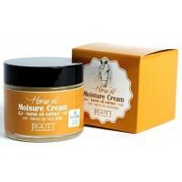 Крем для лица увлажняющий с лошадиным маслом Jigott Moisture Cream Horse Oil Extract