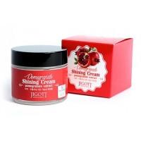 Крем с экстрактом граната для яркости кожи Jigott Pomegranate Shining Cream
