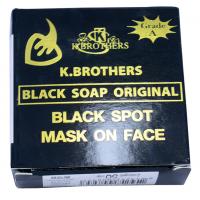 Мыло для лица с экстрактами трав K. Brothers Black Soap Original